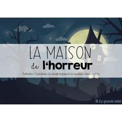 MAISON DE L'HORREUR - Calculs écrits