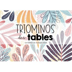 TRIOMINOS des tables - multiplications