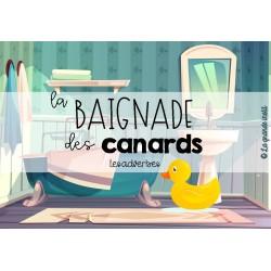 LA BAIGNADE DES CANARDS - Les adverbes