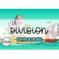CARTES À TÂCHES - La division (découvrir le sens)