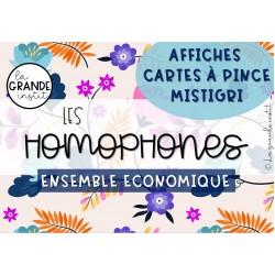 HOMOPHONES - ENSEMBLE ECONOMIQUE