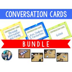 Conversation Cards Bundle: 3 Sets - 185 cards!
