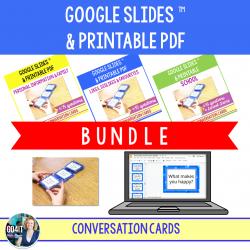 Conversation BUNDLE - Google Slides™ & PDF