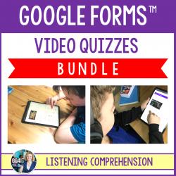 Google Forms™ Video Quizzes BUNDLE