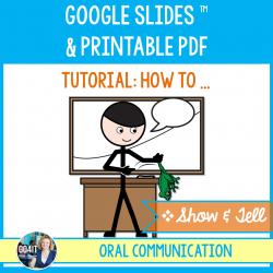 Show & Tell Tutorial - Google Slides & PDF