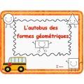 L'autobus des formes géométriques