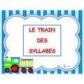Le train des syllabes