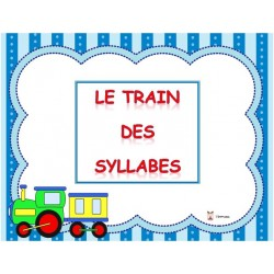 Le train des syllabes