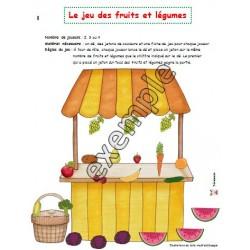 Le jeu des fruits et légumes