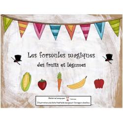 Les formules magiques des fruits et légumes
