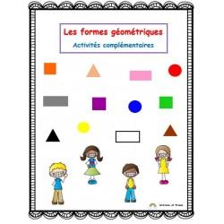 Les formes géométriques, activités complémentaires