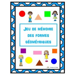 Jeu de mémoire des formes géométriques