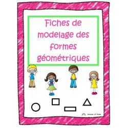 Fiches de modelage des formes géométriques