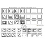 Les suites logiques des formes géométriques