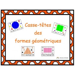 Casse-têtes des formes géométriques