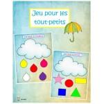 Une pluie de couleurs et de formes