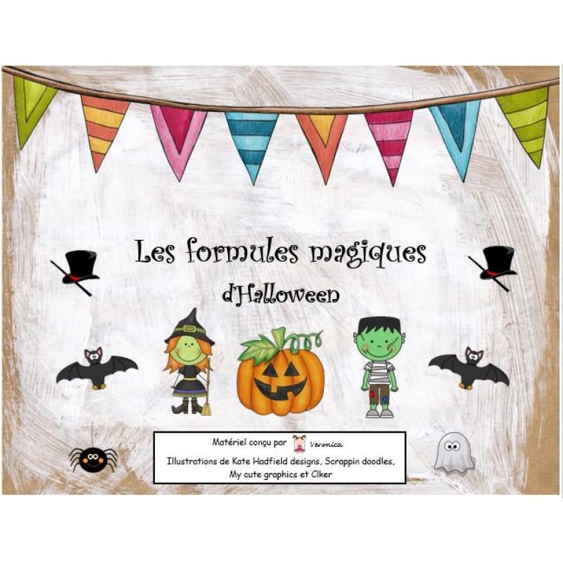 Souvent Les formules magiques d\'Halloween UV33