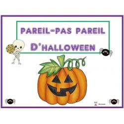 Pareil-Pas Pareil d'halloween