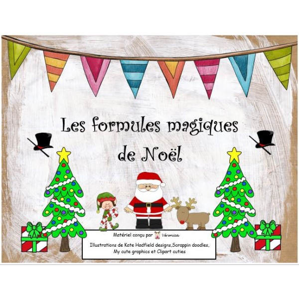 Les formules magiques de Noël