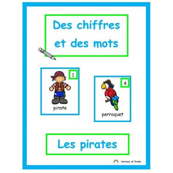 Des chiffres et des mots (pirates)
