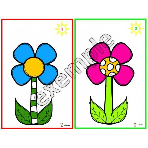 Construction de fleurs