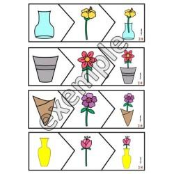 Des vases et des fleurs