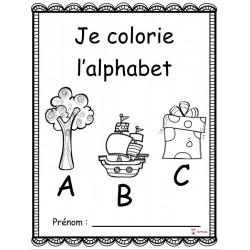 Je colorie l'alphabet