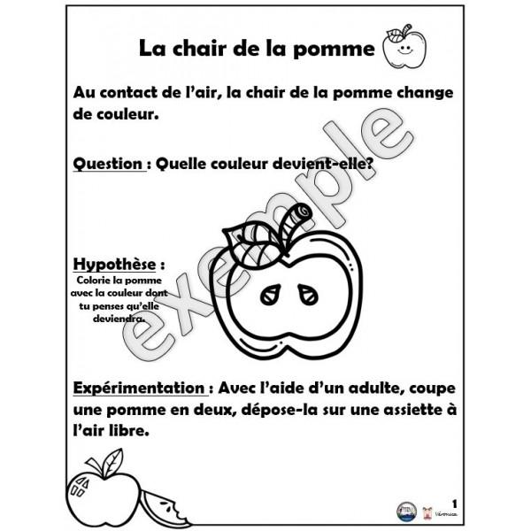 Sciences: la chair de la pomme