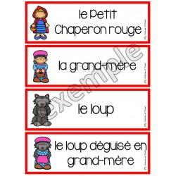 Mots-étiquettes: le Petit Chaperon rouge