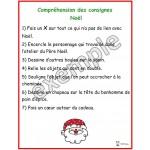 Compréhension des consignes: Noël