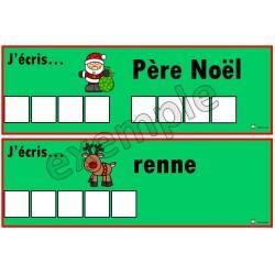 J'écris...Noël