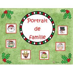 Noël: portrait de famille