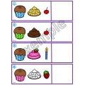 Forme les petits gâteaux
