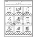 Alimentation: les syllabes