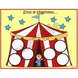 Cirque: sous le chapiteau...