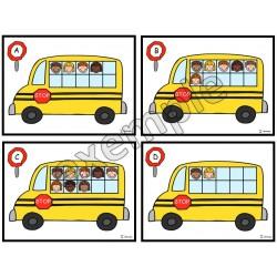 Les passagers dans l'autobus
