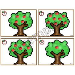 Les pommes dans l'arbre