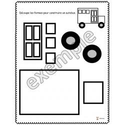 Formes: construire un autobus