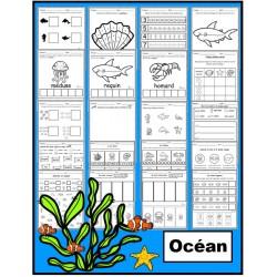 Océan: activités (papier-crayon)