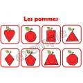 Jeu pour tout-petits: les pommes 2