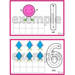 Formes: chiffres de 0 à 10