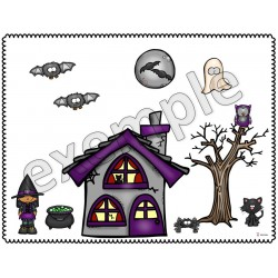 Halloween: reproduis la scène