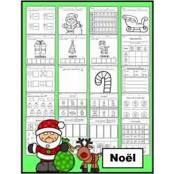 Noël: activités (papier-crayon)