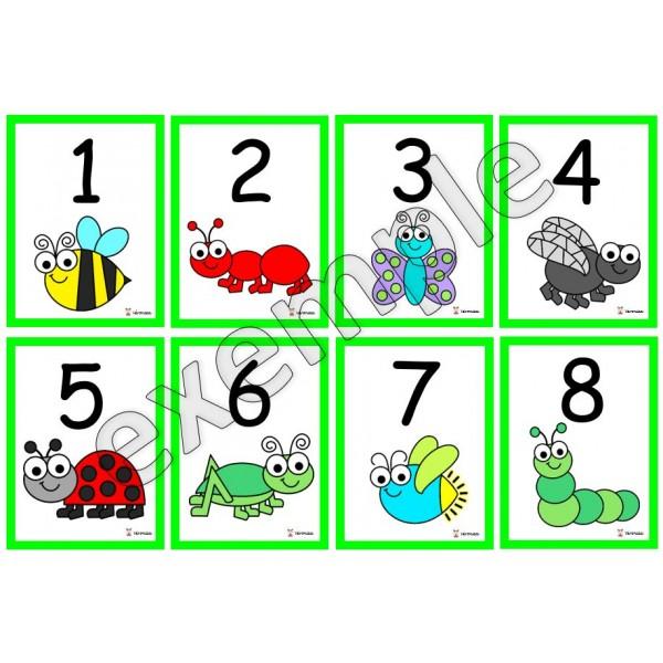 Insectes et bestioles: atelier maths