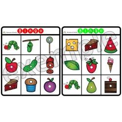 La chenille qui fait des trous: bingo