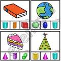Formes en 3D: cartes à pinces