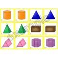 Formes en 3D: jeu de mémoire #2