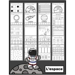 Espace: activités (papier-crayon)