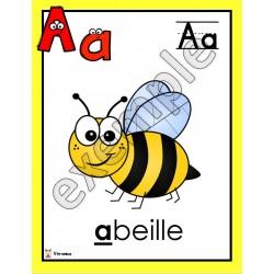Alphabet: affiches