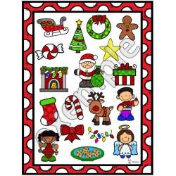 Noël: pige et couvre (mots)